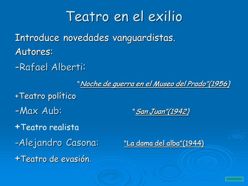 Teatro en el exilio -Rafael Alberti: