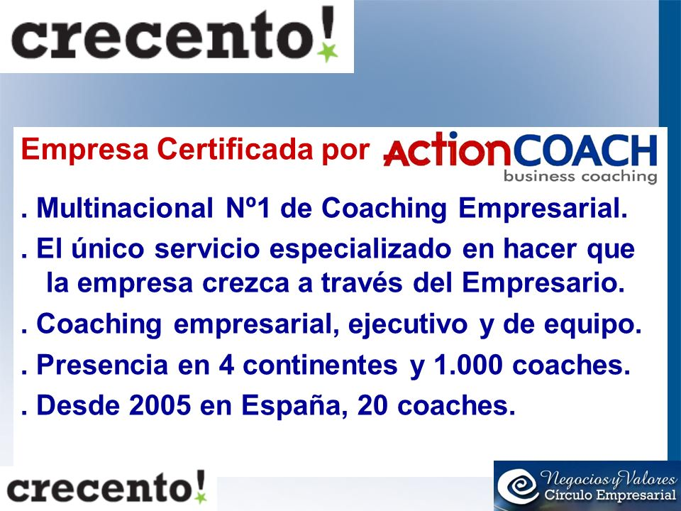 Empresa Certificada por