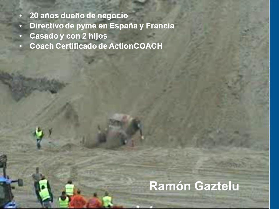 Ramón Gaztelu 20 años dueño de negocio