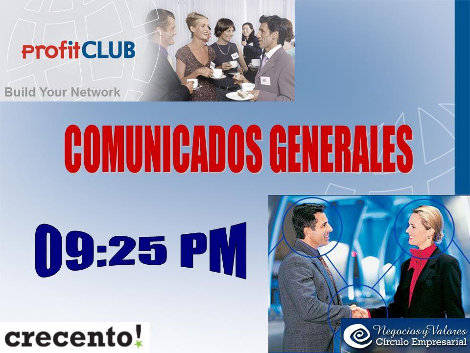 COMUNICADOS GENERALES