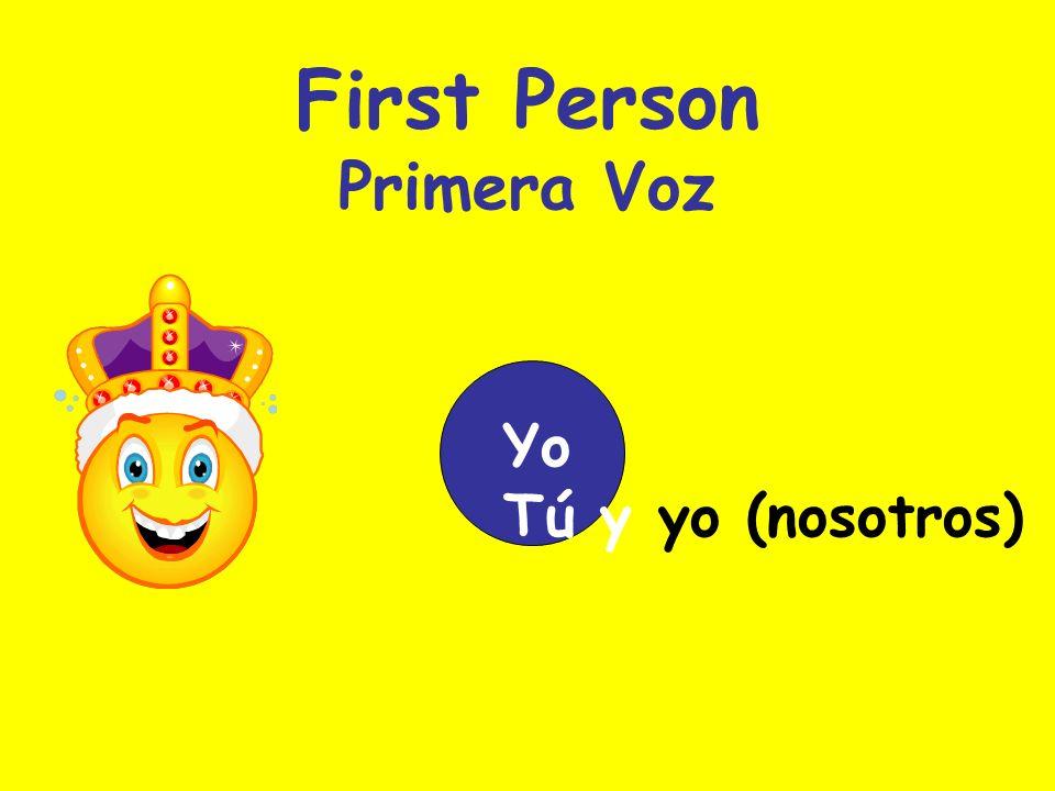 First Person Primera Voz