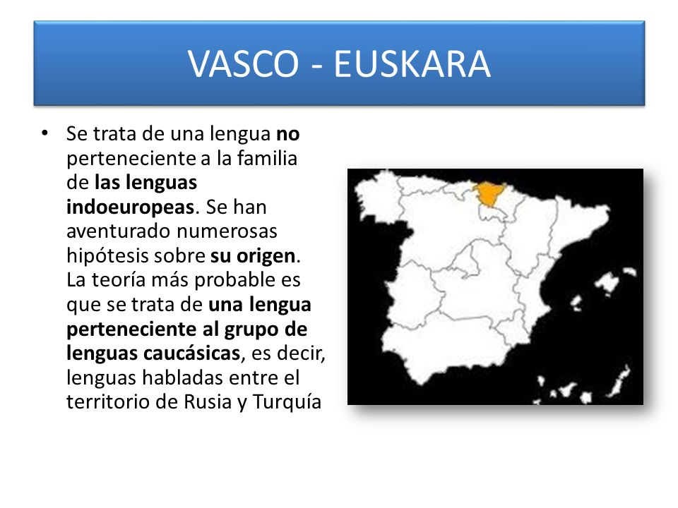VASCO - EUSKARA