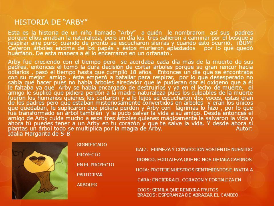 HISTORIA DE ARBY