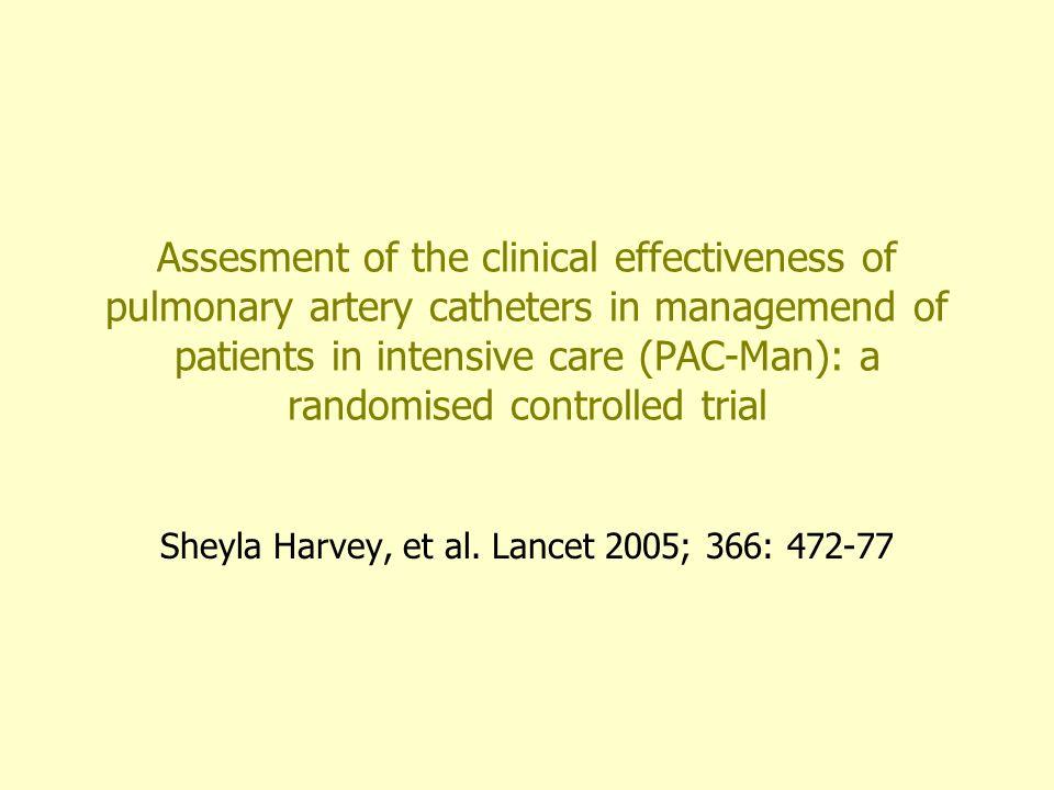 Sheyla Harvey, et al. Lancet 2005; 366: 472-77