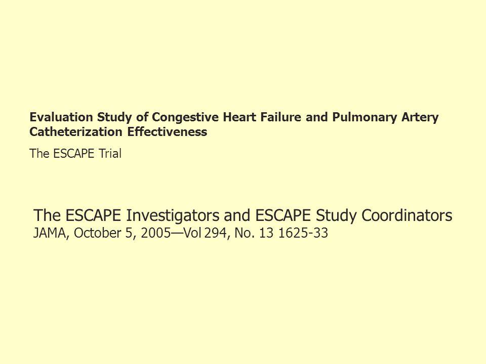 The ESCAPE Investigators and ESCAPE Study Coordinators