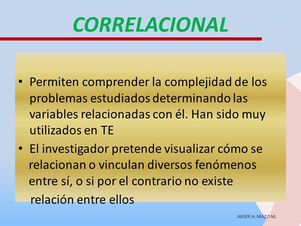 CORRELACIONAL