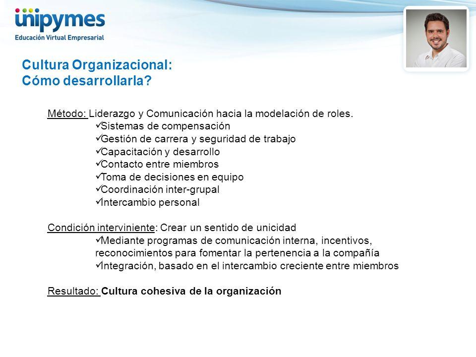Cultura Organizacional: Cómo desarrollarla