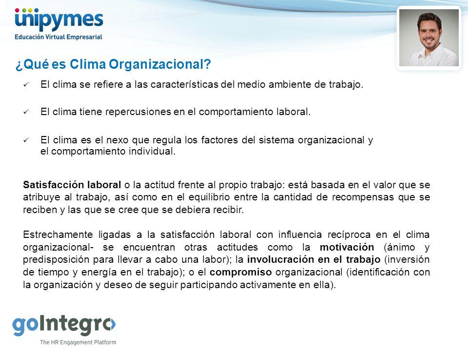 ¿Qué es Clima Organizacional
