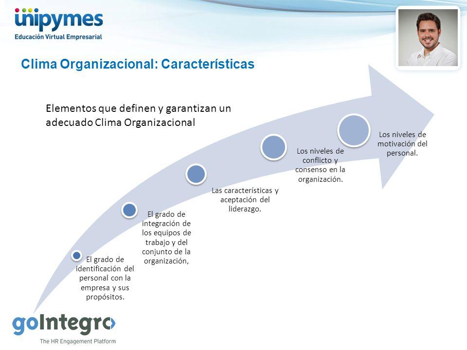 Clima Organizacional: Características
