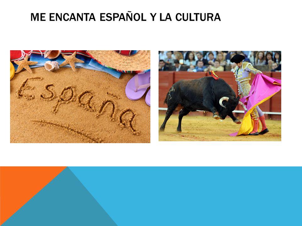 Me encanta español y la cultura