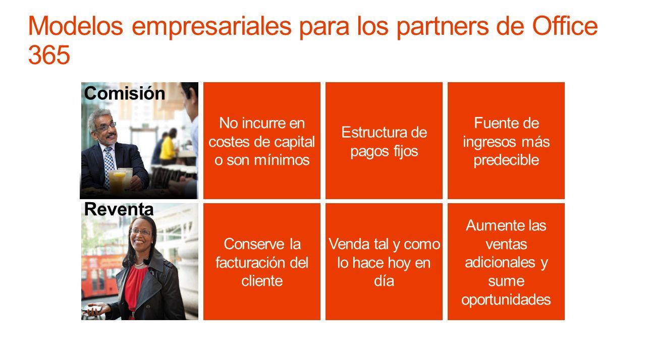 Modelos empresariales para los partners de Office 365