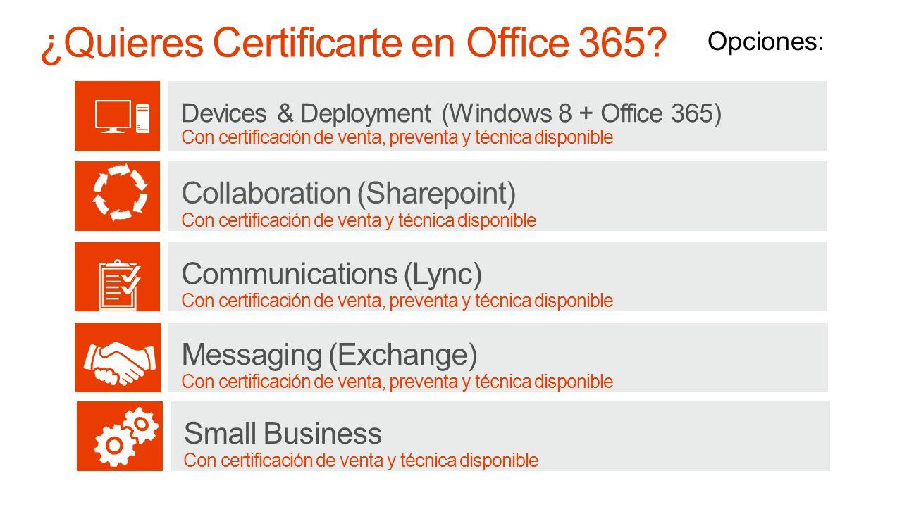 ¿Quieres Certificarte en Office 365