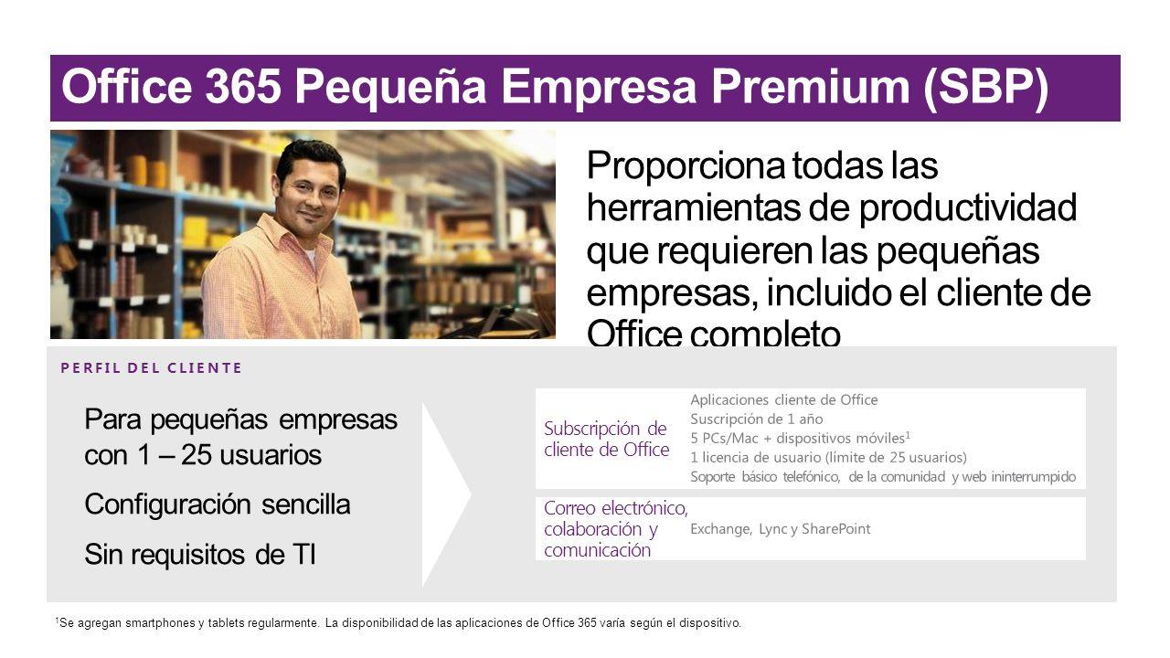Office 365 Pequeña Empresa Premium (SBP)