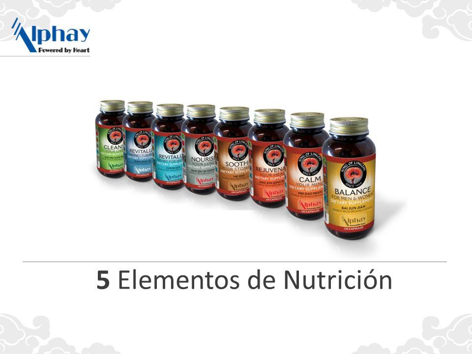 5 Elementos de Nutrición