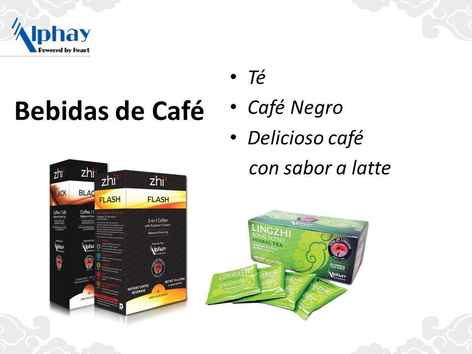 Bebidas de Café Té Café Negro Delicioso café con sabor a latte