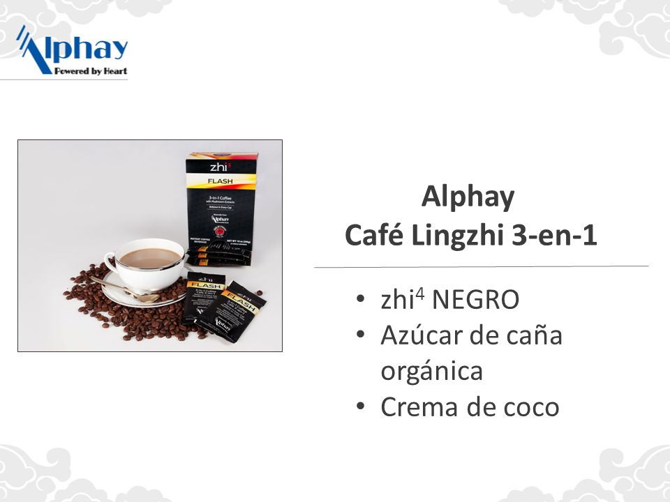 Alphay Café Lingzhi 3-en-1