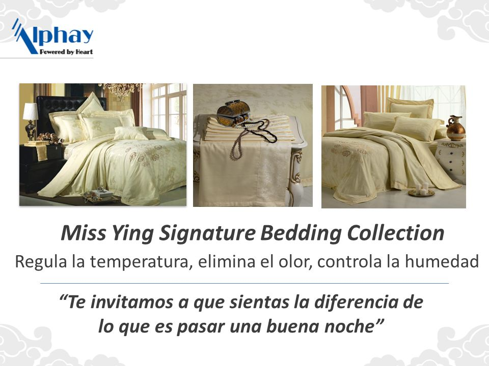 Miss Ying Signature Bedding Collection