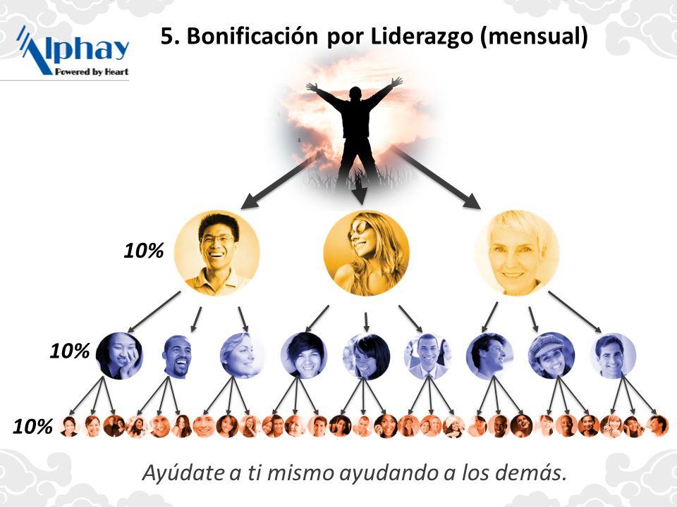 5. Bonificación por Liderazgo (mensual)