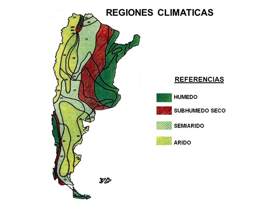 REGIONES CLIMATICAS REFERENCIAS