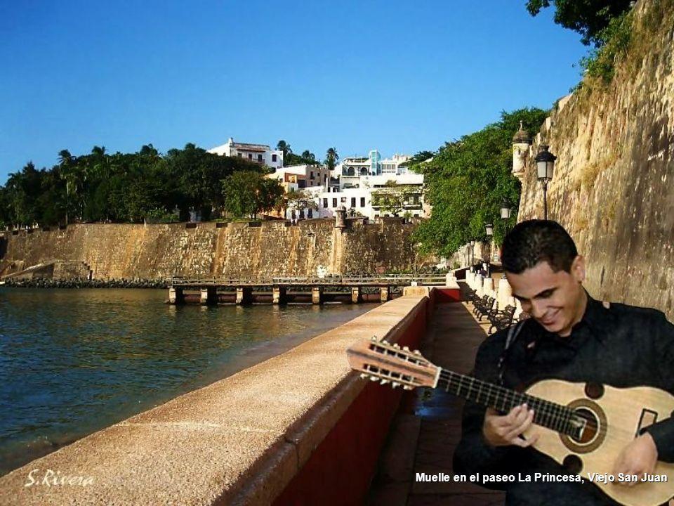 Muelle en el paseo La Princesa, Viejo San Juan