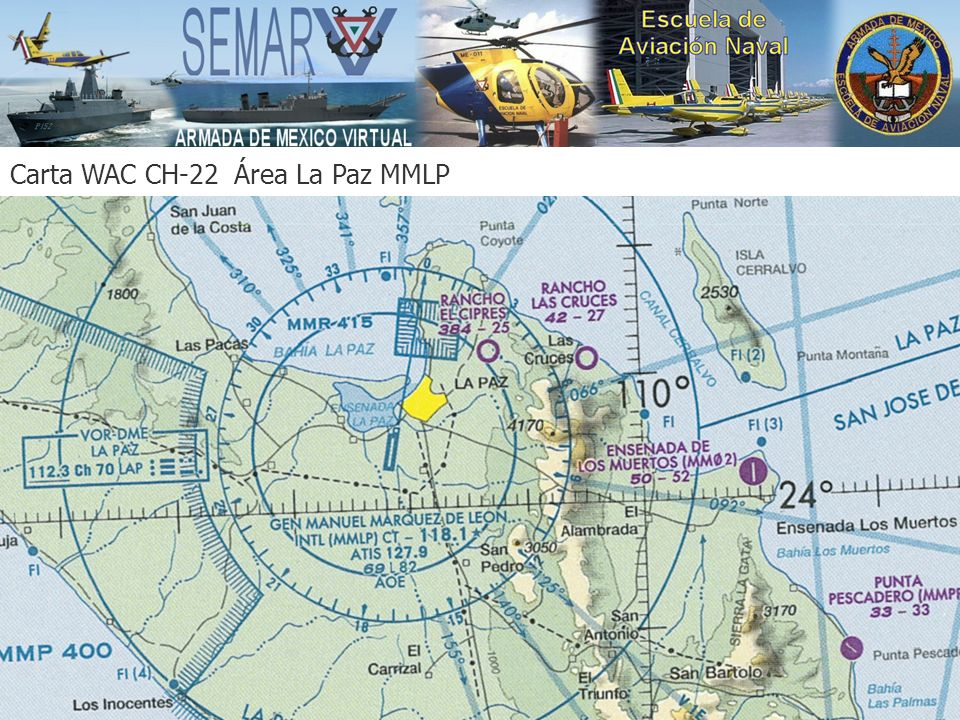 Carta WAC CH-22 Área La Paz MMLP