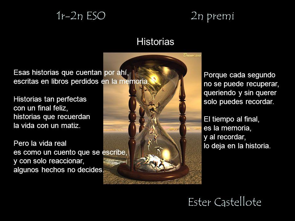 1r-2n ESO 2n premi Ester Castellote Historias