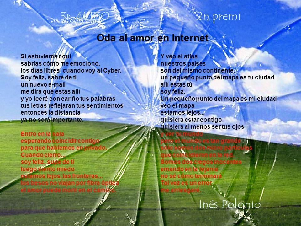 3r-4t ESO 2n premi Inés Polonio Oda al amor en Internet