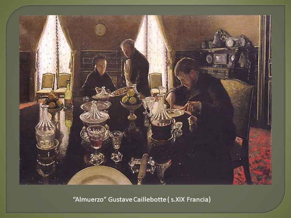 Almuerzo Gustave Caillebotte ( s.XIX Francia)