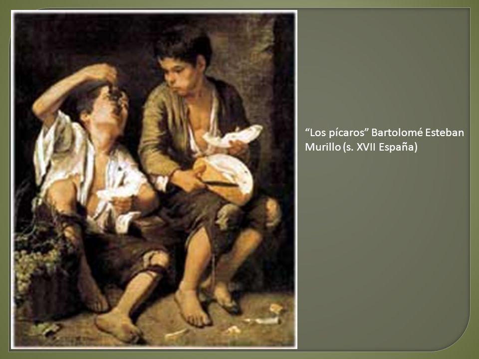 Los pícaros Bartolomé Esteban Murillo (s. XVII España)