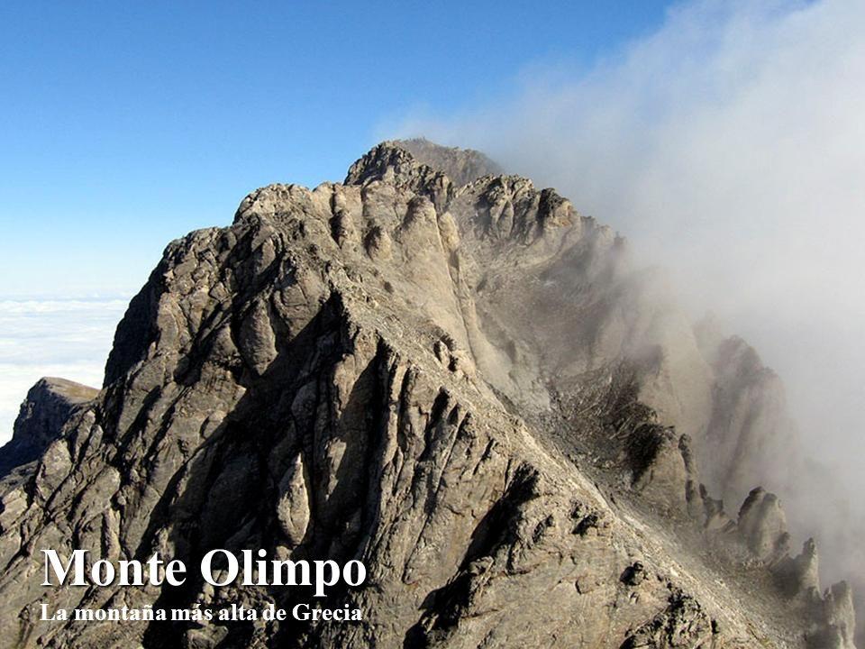 Monte Olimpo La montaña más alta de Grecia