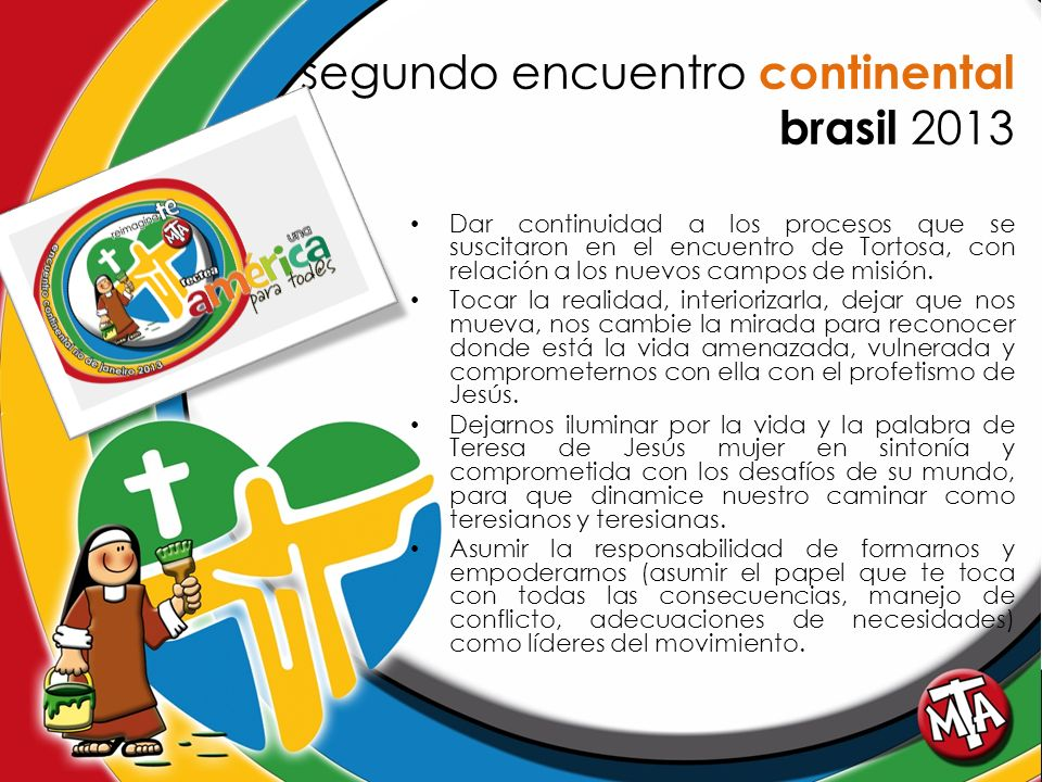 segundo encuentro continental brasil 2013