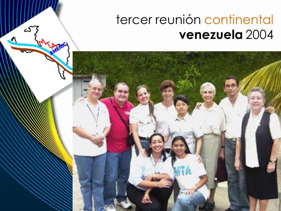 tercer reunión continental venezuela 2004
