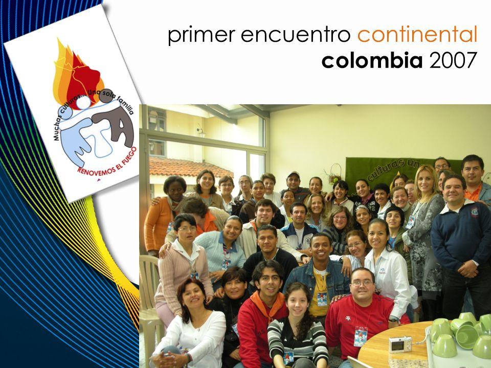 primer encuentro continental colombia 2007