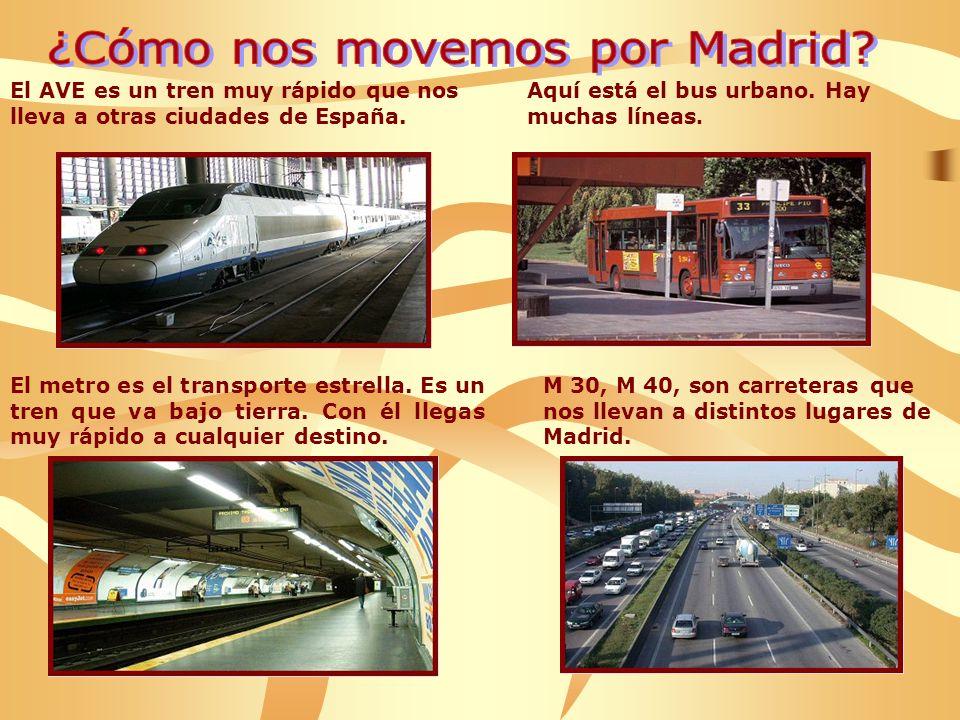 ¿Cómo nos movemos por Madrid