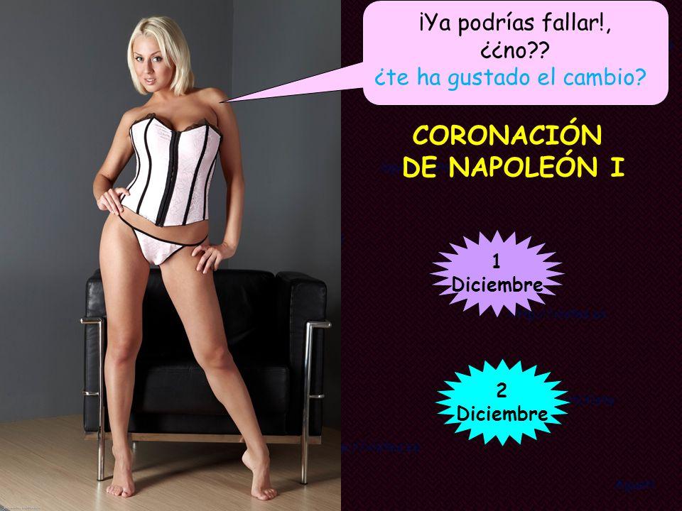 CORONACIÓN DE NAPOLEÓN I