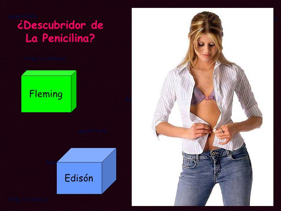 ¿Descubridor de La Penicilina