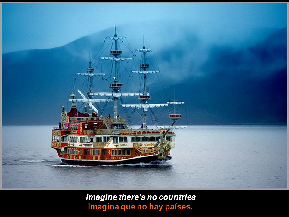 Imagine there's no countries