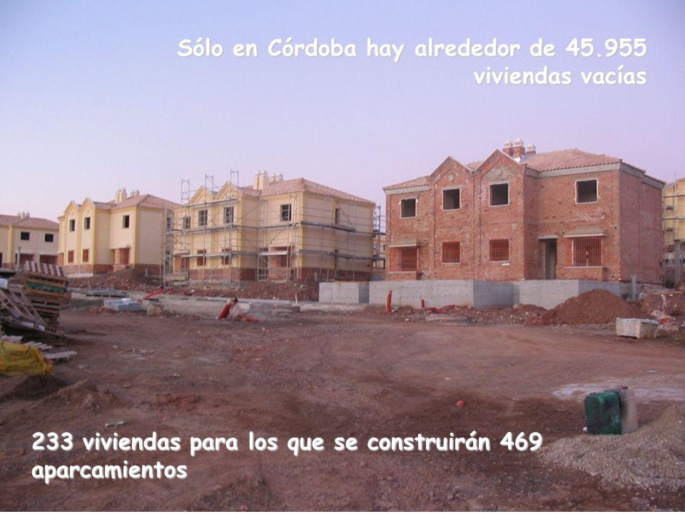 Sólo en Córdoba hay alrededor de 45.955 viviendas vacías