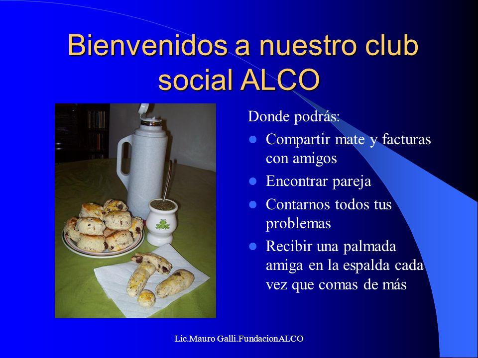 Bienvenidos a nuestro club social ALCO