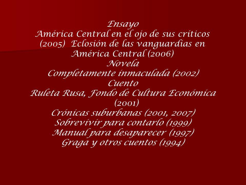 Completamente inmaculada (2002) Cuento
