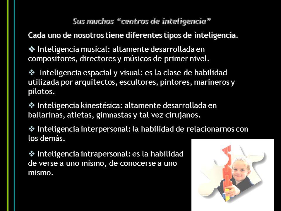 Sus muchos centros de inteligencia