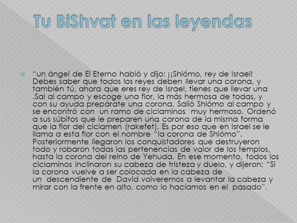 Tu BiShvat en las leyendas