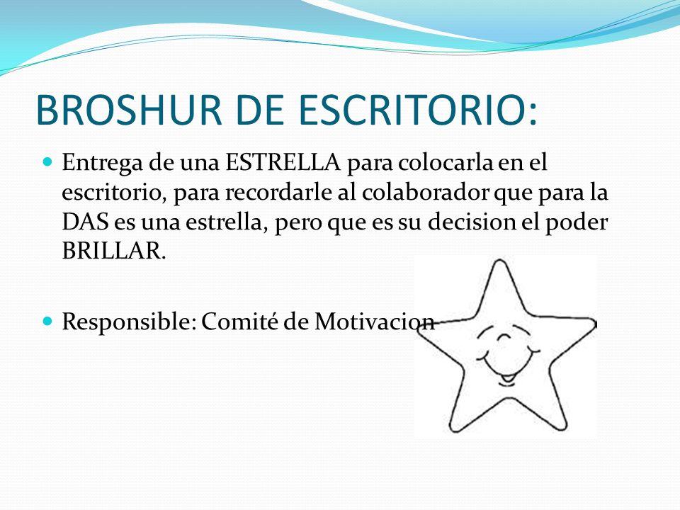 BROSHUR DE ESCRITORIO: