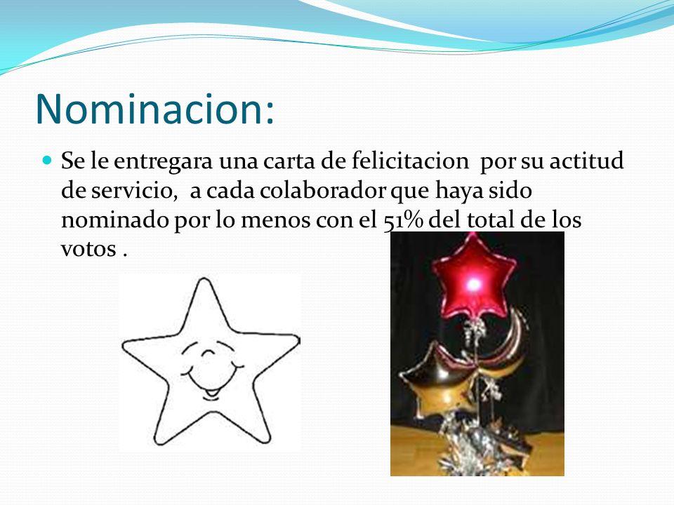 Nominacion: