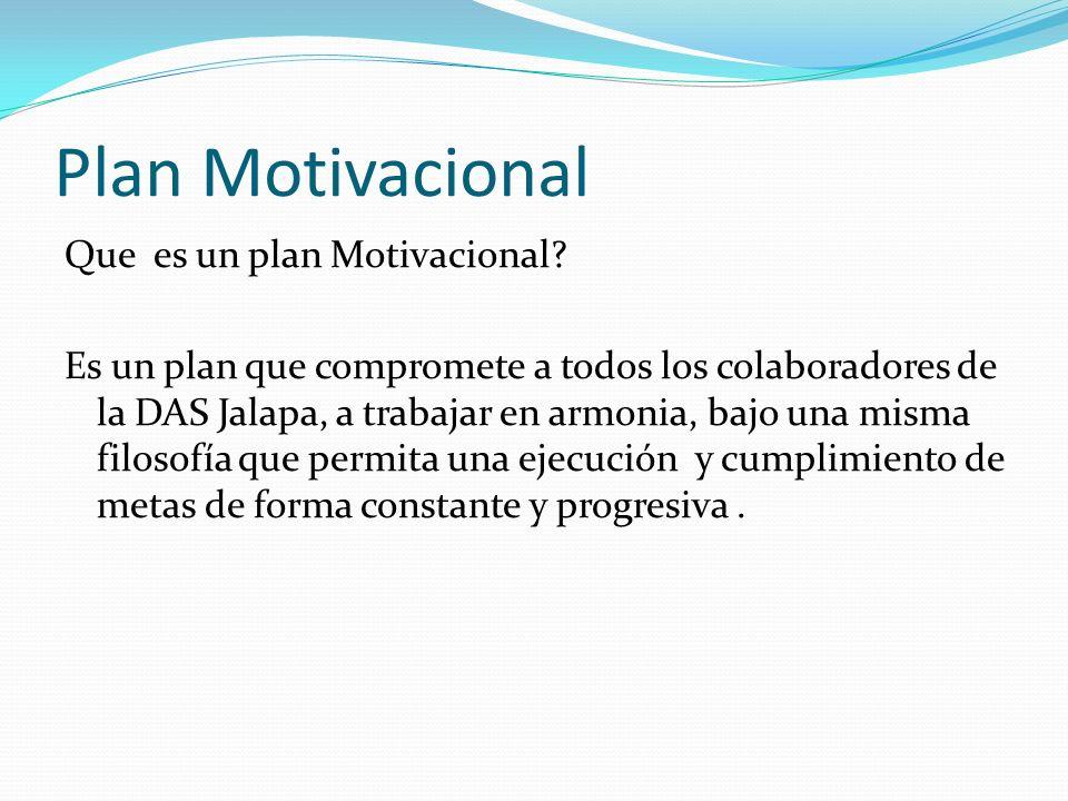 Plan Motivacional