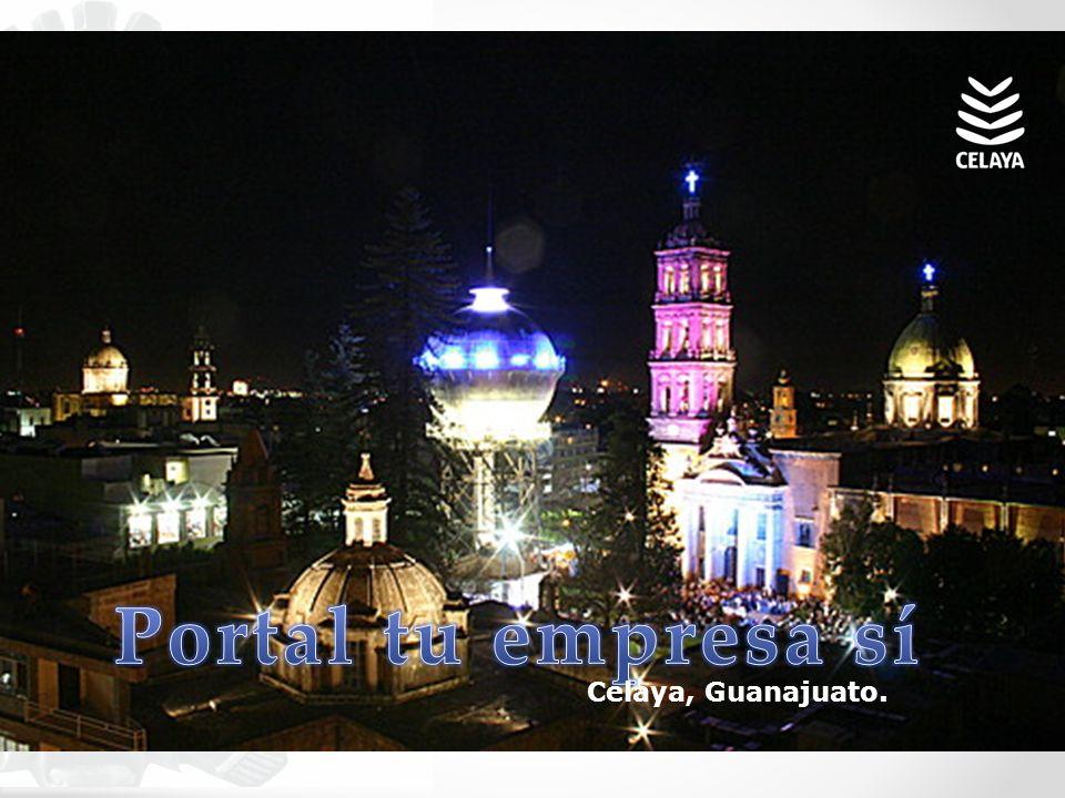 Portal tu empresa sí Celaya, Guanajuato.