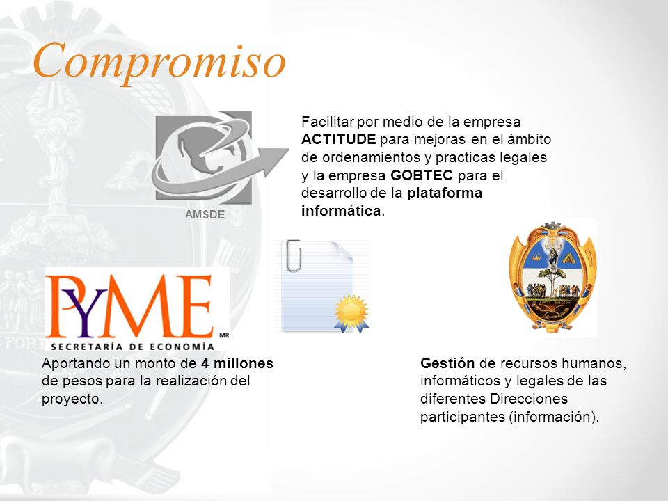 Compromiso AMSDE.