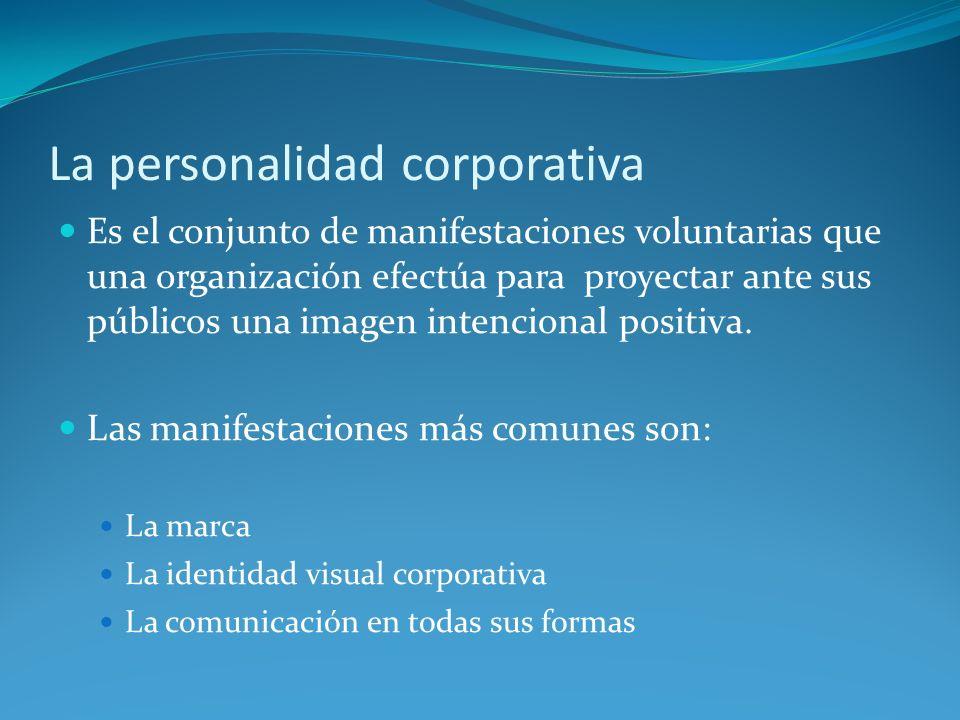 La personalidad corporativa