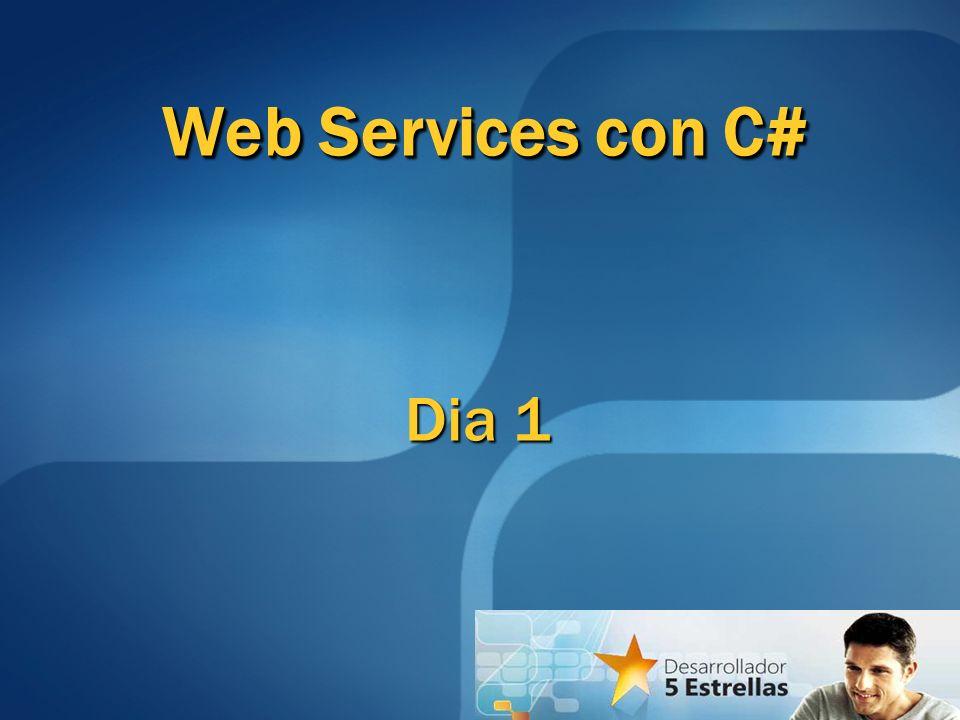 Web Services con C# Dia 1