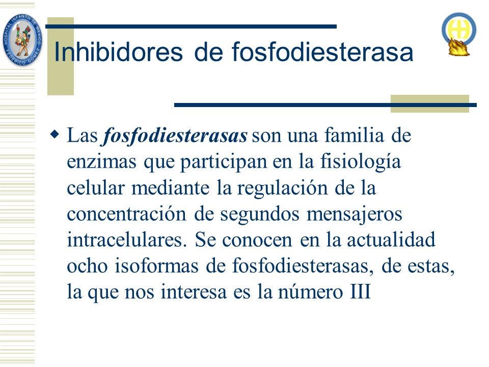 Inhibidores de fosfodiesterasa